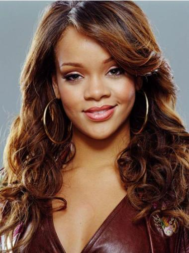 Capless With Bangs Long 18 Inches High Quality Rihanna Curly Style