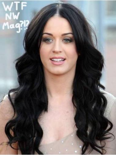 100% Hand-Tied Wavy Long Synthetic Modern Celebrity Style Lace Wigs