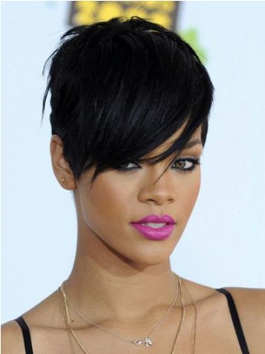 Boycuts Cropped 6 Inches Modern Rihanna Capless Wig
