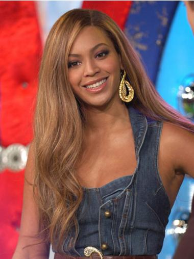 "Brown Without Bangs Wavy 22"" Synthetic Beyonce Wigs"
