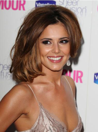 Lace Front Layered Synthetic Cheryl Cole Style Wigs