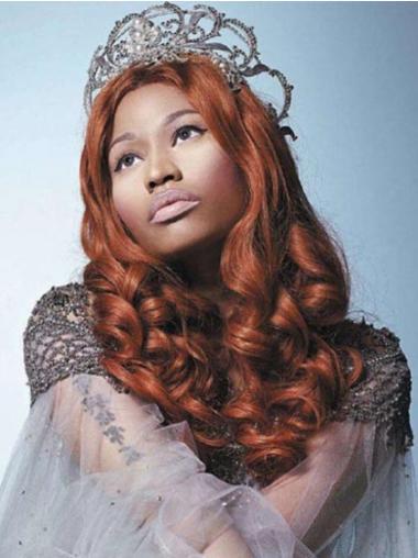 Does Nicki Minaj Wear A Wig Auburn Without Bangs Long Cheap