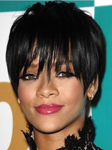 Capless Boycuts Cropped 6 Inches Stylish Celebrity Wigs Lines