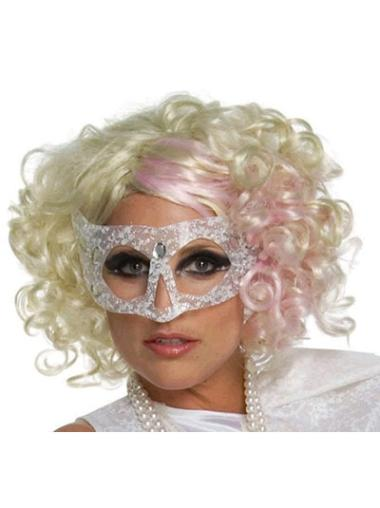 Curly Chin Length Synthetic 12 Inches Buy Lady Gaga Wigs