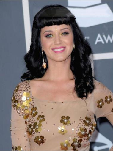 Celebrity Noble Wig Capless With Bangs Remy Human Hair Ideal Katy Perry