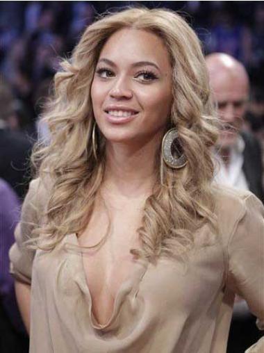 Beyonce Blond Wig Wavy Synthetic