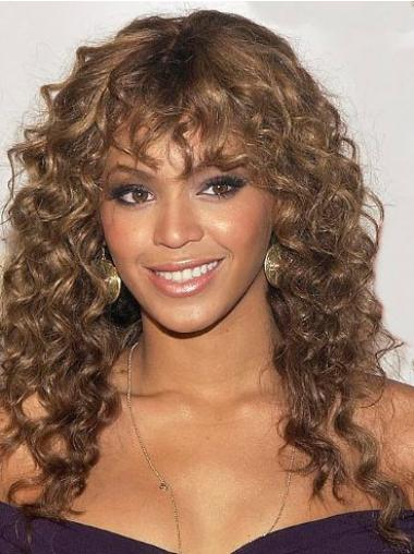 Auburn Curly Synthetic Beyonce Wig