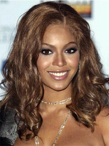 Brown Wavy Synthetic Beyonce Wigs