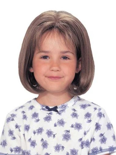 Best Lace Front Brown Straight Wig For Kid