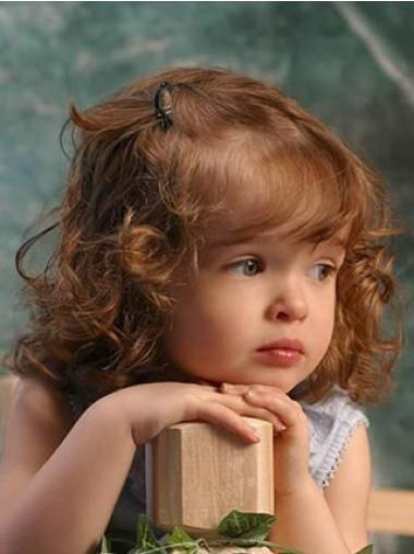 Beautiful Curly Lace Front A Childs Wig With Real Hair
