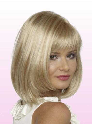 Lace Front Bobs Chin Length Cheap Petite Size Wigs For Women