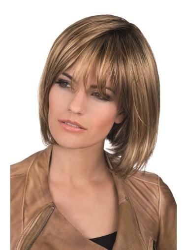 """Convenient 10"""" Synthetic Straight Lace Front Lace Front Wigs"""