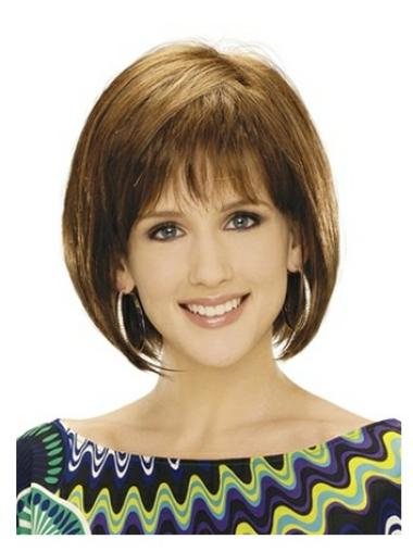 Synthetic Straight Blonde Capless Beautiful Bob Wigs