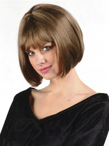 Synthetic Straight Brown Capless The Best Bob Wigs