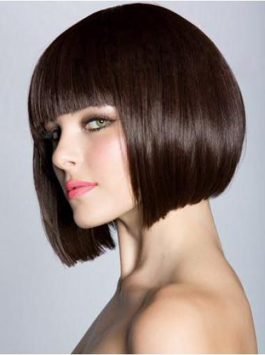10 Inches Synthetic Straight Fabulous Wigs Bob Style