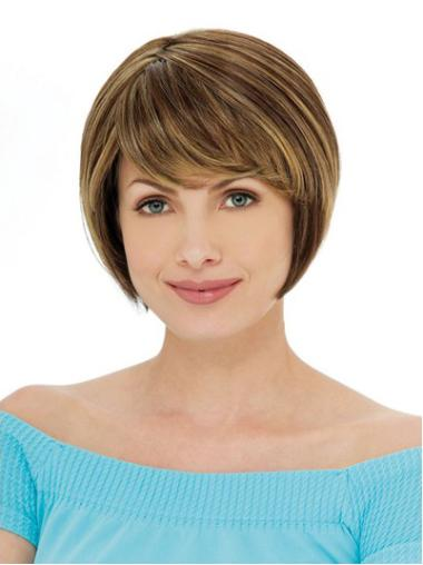 Auburn Straight Short High Quality Bob Style Wigs
