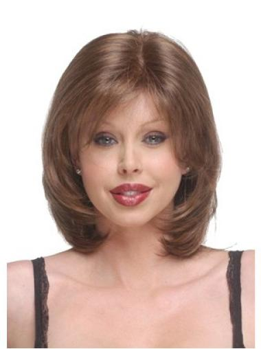Synthetic Auburn Straight Chin Length New Wigs Layered