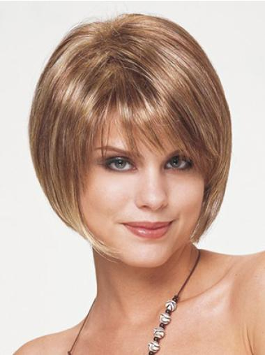 Straight Capless Bobs Best Short Straight Wigs