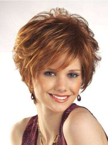 Capless Boycuts Short Fashion Petite Wigs For Small Heads