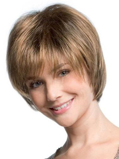 Straight Capless Bobs Short Straight Hair Wig