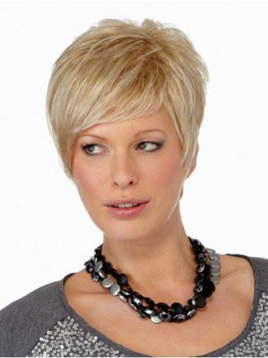 Synthetic Blonde Crochet Straight Short Harir Styles