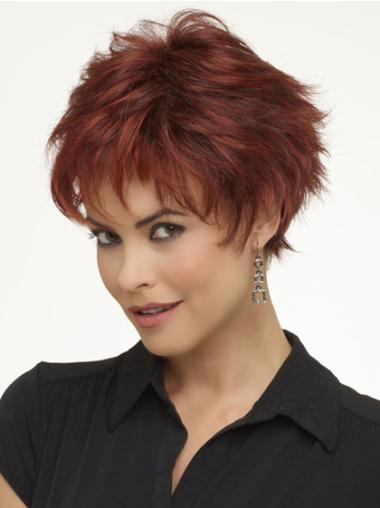 Wavy Synthetic Sleek Monofilament Wigs For Chemo Patients