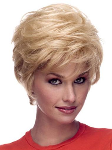 New Short Capless Human Hair Wigs
