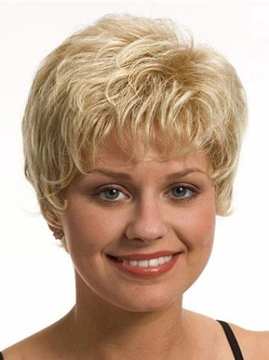 No-Fuss Synthetic Wavy Short Capless Wigs