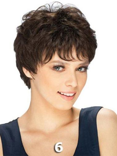 Discount Straight Human Hair Short Wigs