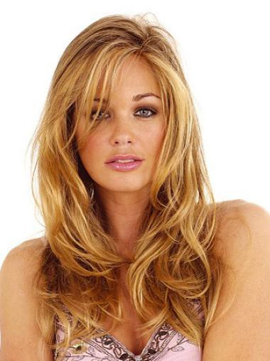 Lace Front Layered Wavy Synthetic Cheapest Wavy Long Hair Wig