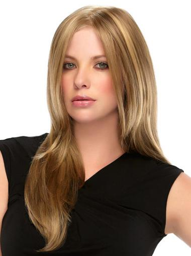 Without Bangs Long Synthetic Lace Wigs Natural Color