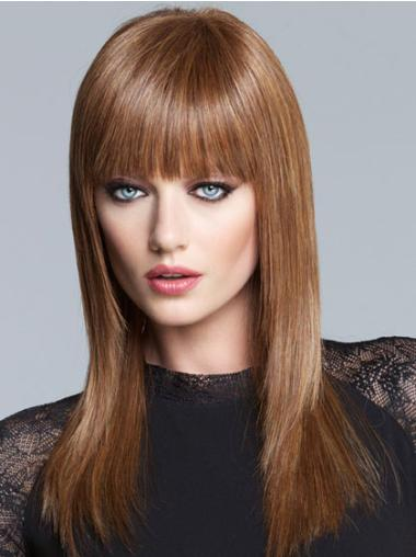 Long Lace Front Brown African American Wigs Cheap