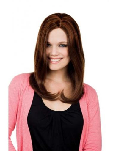 Without Bangs Lace Front Online Synthetic Long Straight Wig