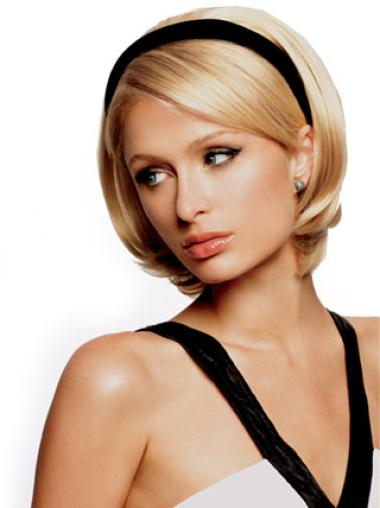 Capless Synthetic Beautiful Short Half Wigs