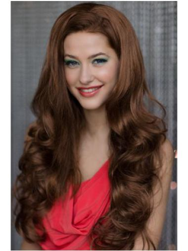 Fashion Synthetic Wavy Capless Half Woman Wigs