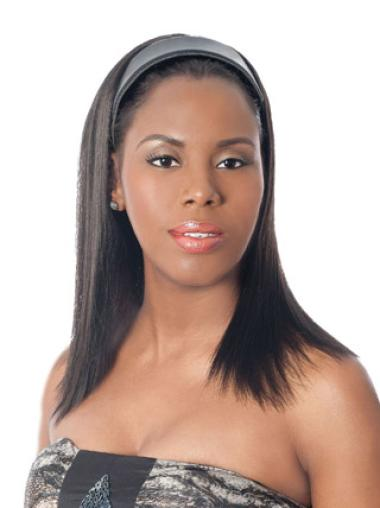 Cheapest Straight Long Half Wigs For Natural Black Hair