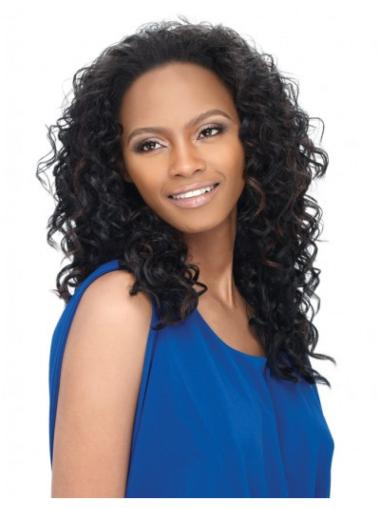 Black Curly Best Half Wig For Natural Hair