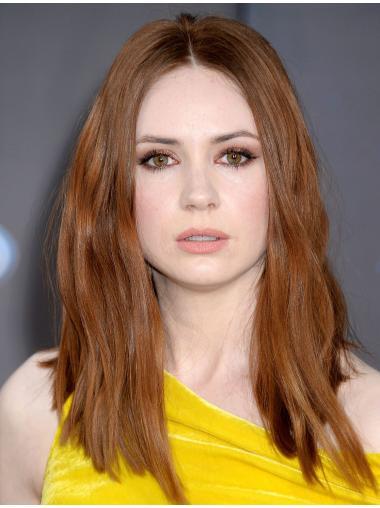 """16"""" Straight Blonde Without Bangs Designed Karen Gillan Wigs"""