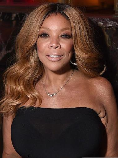 Blonde Long Wavy Synthetic Great Wendy Williams Wigs