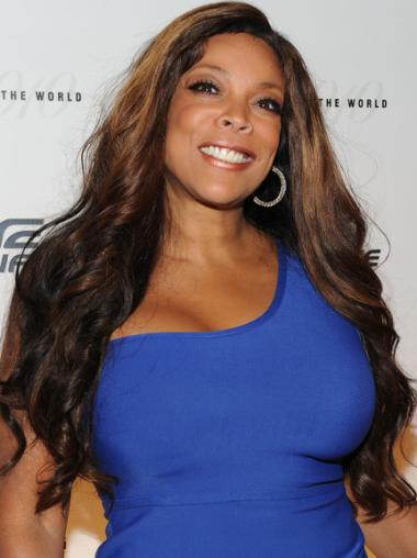 Ombre/2 Tone Wavy Cheapest Wendy Williams Wigs For Natural Hair
