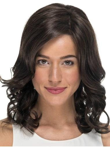 Monofilament Black Affordable Wigs For Cancer