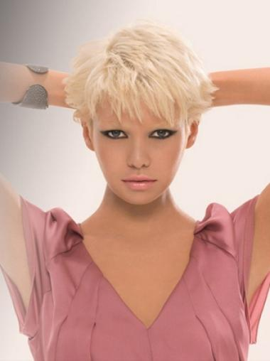 Short Young Fashion The Best Straight Short Wigs