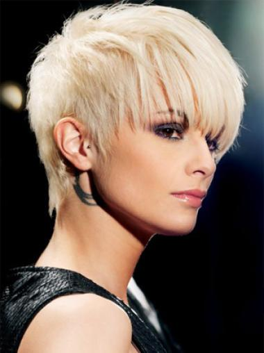 Popular 8 Inches Young Fashion Short Synthetic Wigs