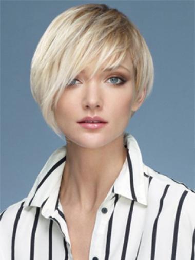 Boycuts Synthetic Fashionable Short Wigs