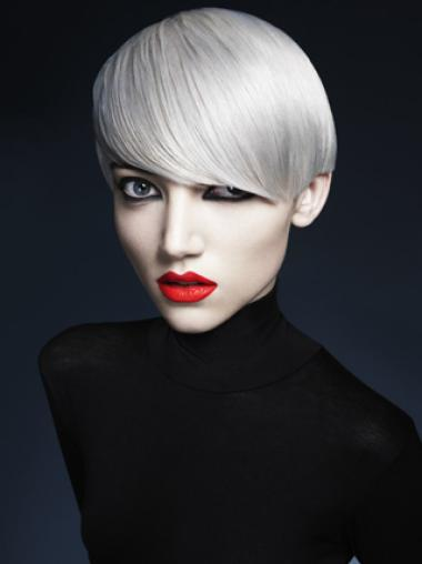 Short Boycuts 8 Inches Young Synthetic Fashion Wigs