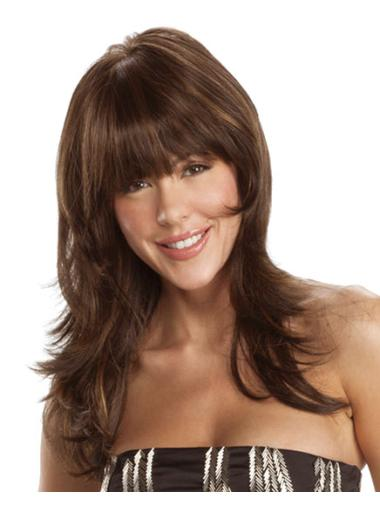 22 Inches Capless Synthetic Wavy Long Hair Wig