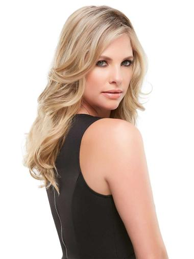 """Synthetic Wavy 12""""(As Picture) Blonde Part XL Topper From"""