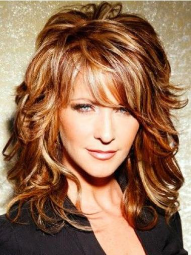Celebrity Lace Wig Lace Front With Bangs Synthetic Best Joy Behar