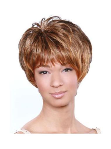 Fabulous Capless Black Women Wigs Short Hair Style