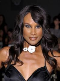 Lace Front With Bangs Long Trendy Beverly Johnson Remy Human Hair Wigs